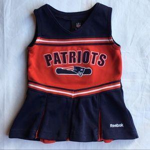 Patriots dress Reebok size 6-9 Months football